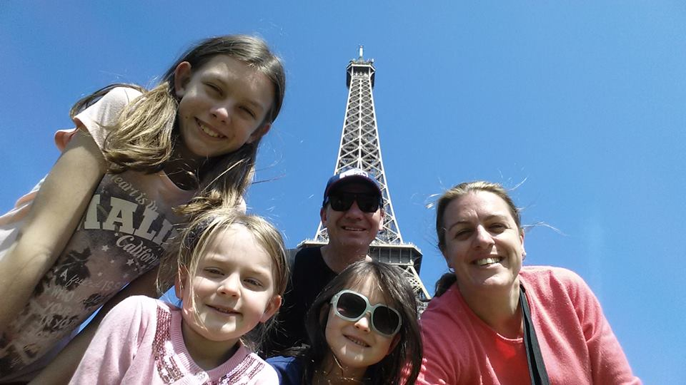 Eiffel Tower With Kids