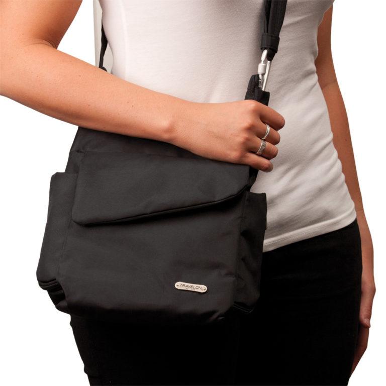 travelon anti theft messenger bag