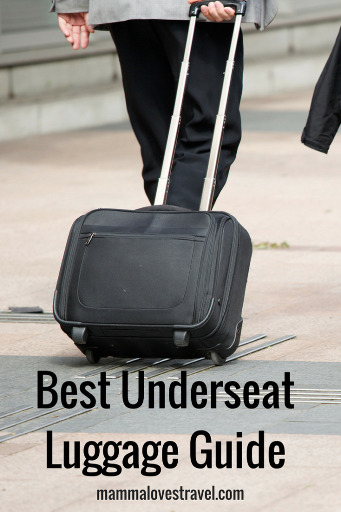 best underseat luggage
