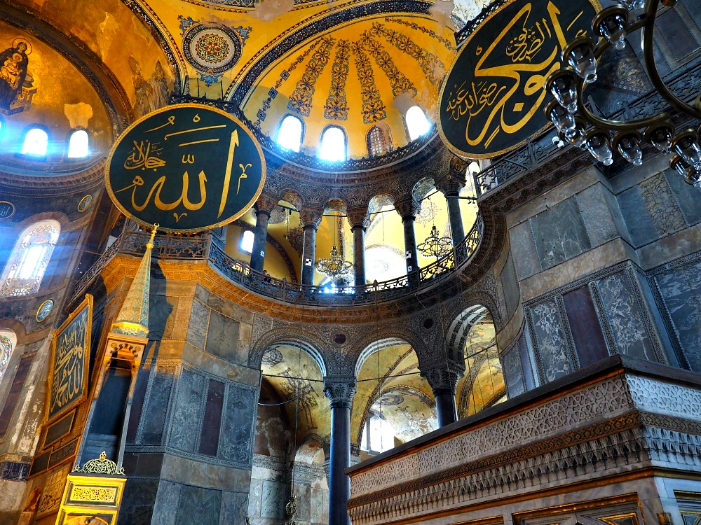 Inside-Hagia-Sophia Amazing Places Of Worship From Around The World
