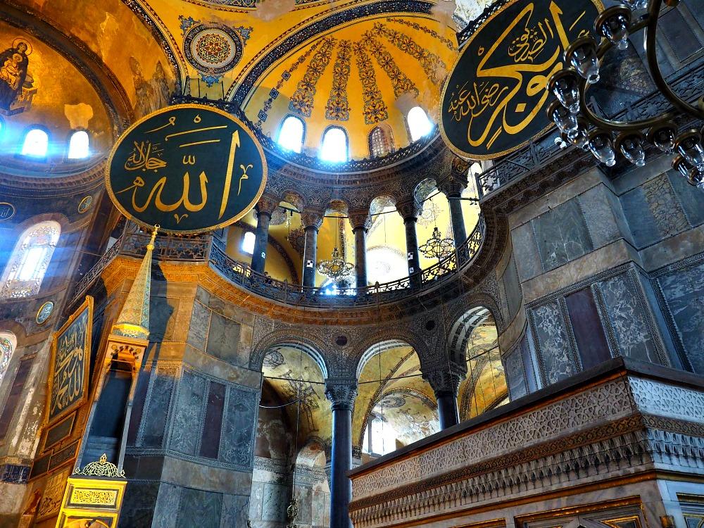 Inside-Hagia-Sophia Amazing Places Of Worship From Around The World