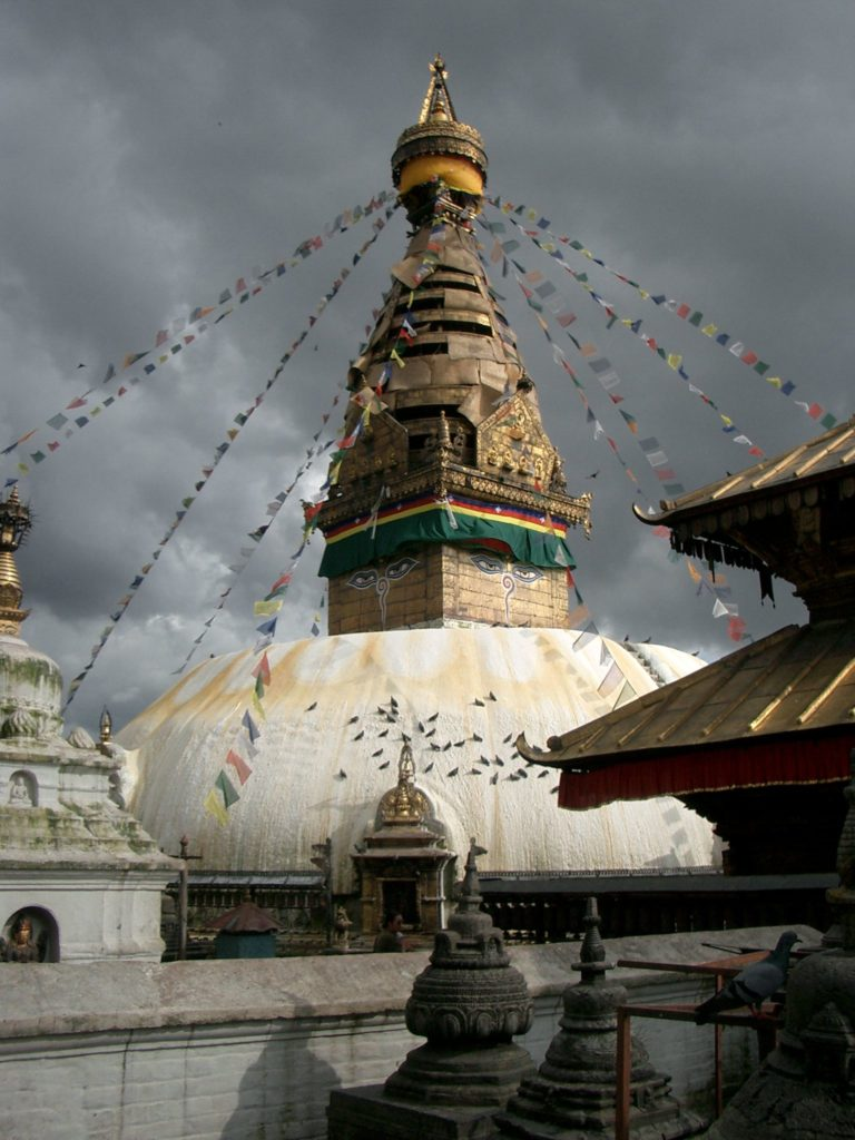 Swayambhu-Stupa-Nepal-1-768x1024 Amazing Places Of Worship From Around The World